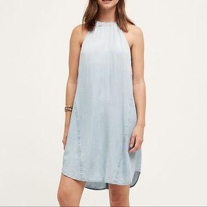 Anthro // Cloth & Stone // High Tide Halter Dress
